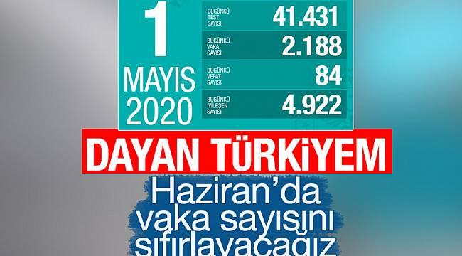 Türkiye'deki koronavirüs vakalarında son durum