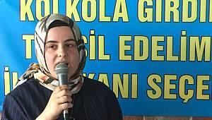 İYİ Parti Rize İl Başkanı Av. Ayşegül Özyanık, Adaylığını Açıkladı