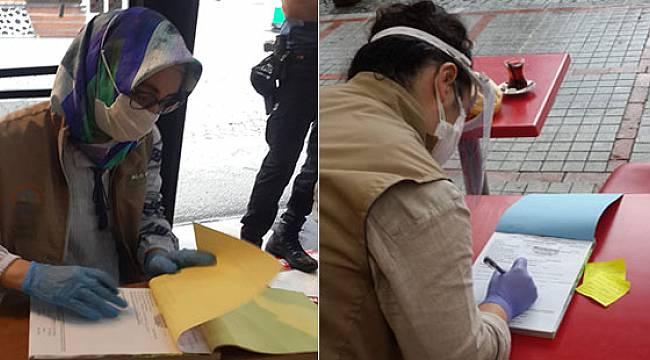Rize'de 2 Günde Kovid-19 Tedbirlerine Uymayan 28 İşletmeye Ceza