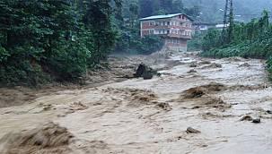 Doğu Karadeniz'deki Kuvvetli Yağışlara Dikkat