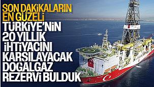 Karadeniz'deki Tuna 1 kuyusunda 800 milyar metreküp doğalgaz bulundu