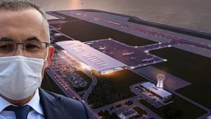 Rize-Artvin Havalimanı Projesine 600 Dönümlük Yeni Dolgu Alanı Eklendi