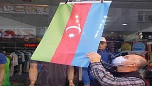 "Rize'den Azerbaycan'a ""Bayraklı"" Destek"