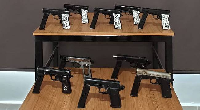 Rize'de Silah Kaçakçılığı Yaptığı Gerekçesiyle 1 Kişi Tutuklandı
