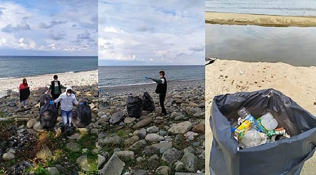 Temiz Çevre İçin Uzanan Üniversiteli Ellere Ardeşen Belediyesinden Tam Destek