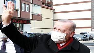 Cumhurbaşkanı Erdoğan İstanbul'dan Rize'ye Döndü