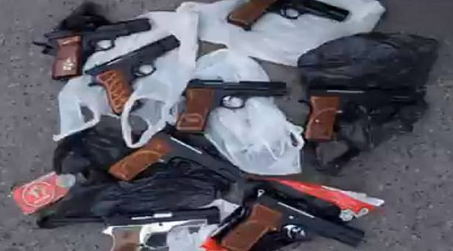 Rize'de 8 Ruhsatsız Tabanca Ele Geçirilen Operasyonda Yakalanan 3 Şüpheli Tutuklandı