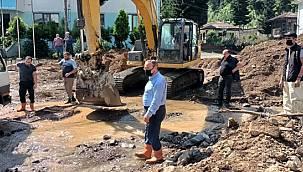 ÇAYKUR'un 2 Fabrikası Sel Suları Altında Kaldı