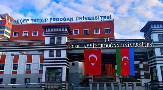 Recep Tayyip Erdoğan Üniversitesi Yeni Dönemde de Dünyanın En İyi Üniversiteleri Listesinde!